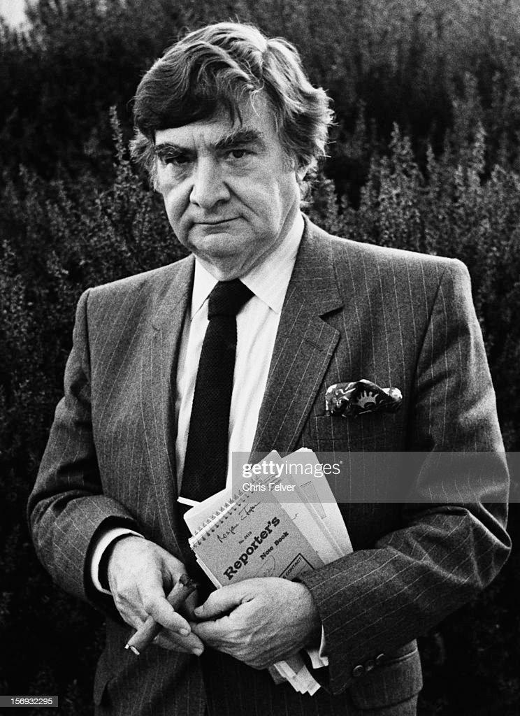 Portrait Of Pierre Salinger : News Photo