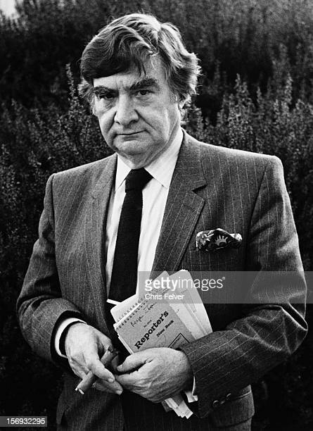 Portrait of writer Pierre Salinger San Francisco California 1981