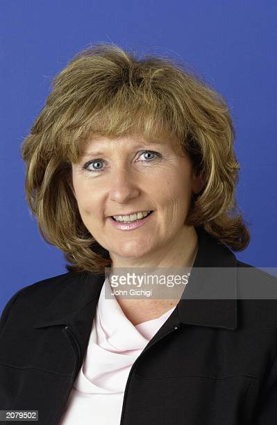 Portrait of WTA staff Donna Kelso on May 26, 2003 in Paris, France.