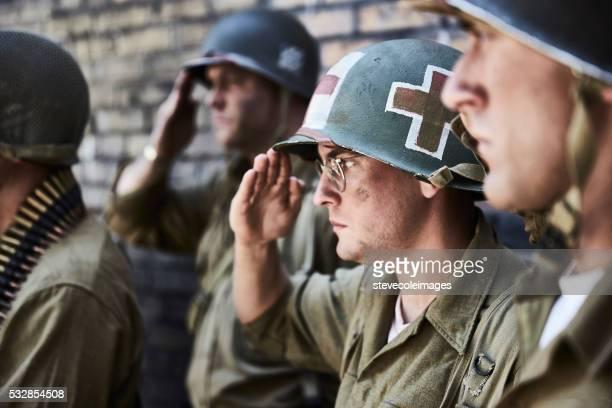Portrait de WW ll soldats.