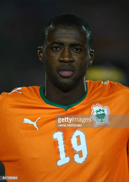 Portrait of Yaya Toure of the Ivory Coast during the International Friendly match between Turkey and the Ivory Coast at the Izmir Ataturk Stadium on...