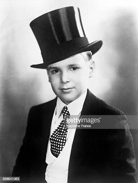 Portrait of young actor Jackie Coogan in 1928 in the United States
