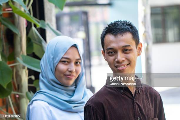 Portrait of young adults in Malaysia