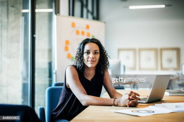 Portrait of young african businesswoman