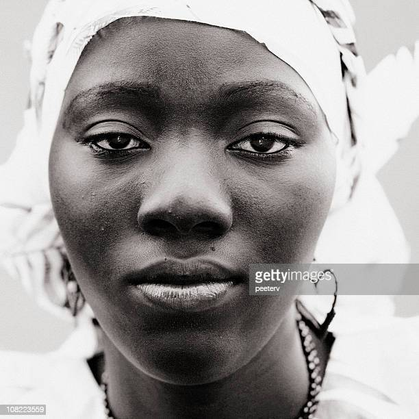 Portrait of Young African Girl
