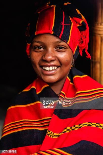 Porträt von junge afrikanische Frau, Osten und Afrika