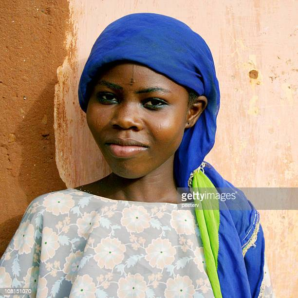 Portrait of Young African Woman