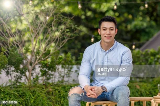若い男性の肖像画 - 東洋文化 ストックフォトと画像