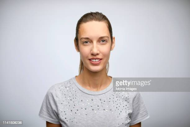 portrait of young beautiful female executive - eastern european stock pictures, royalty-free photos & images