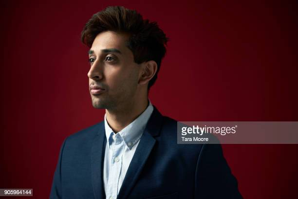 portrait of young business man - indian subcontinent ethnicity stock pictures, royalty-free photos & images