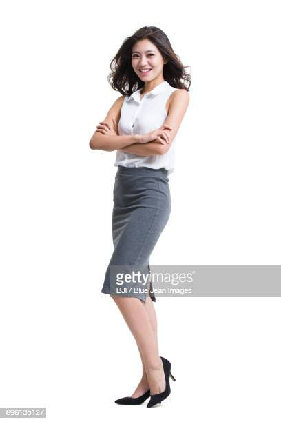portrait of young business people - sleeveless stock pictures, royalty-free photos & images