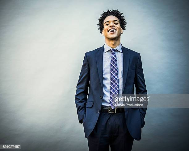 portrait of young businessman - lol stock photos and pictures