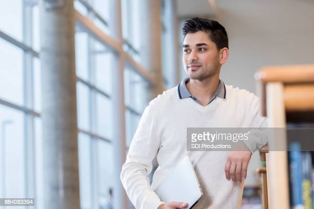portrait of young businessman - looking away stock pictures, royalty-free photos & images