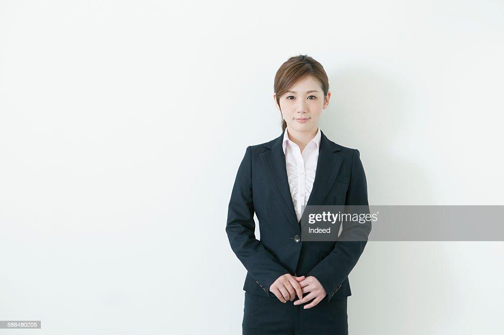 Portrait of young businesswoman : ストックフォト