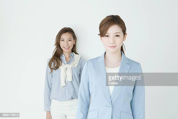 Portrait of young businesswomen