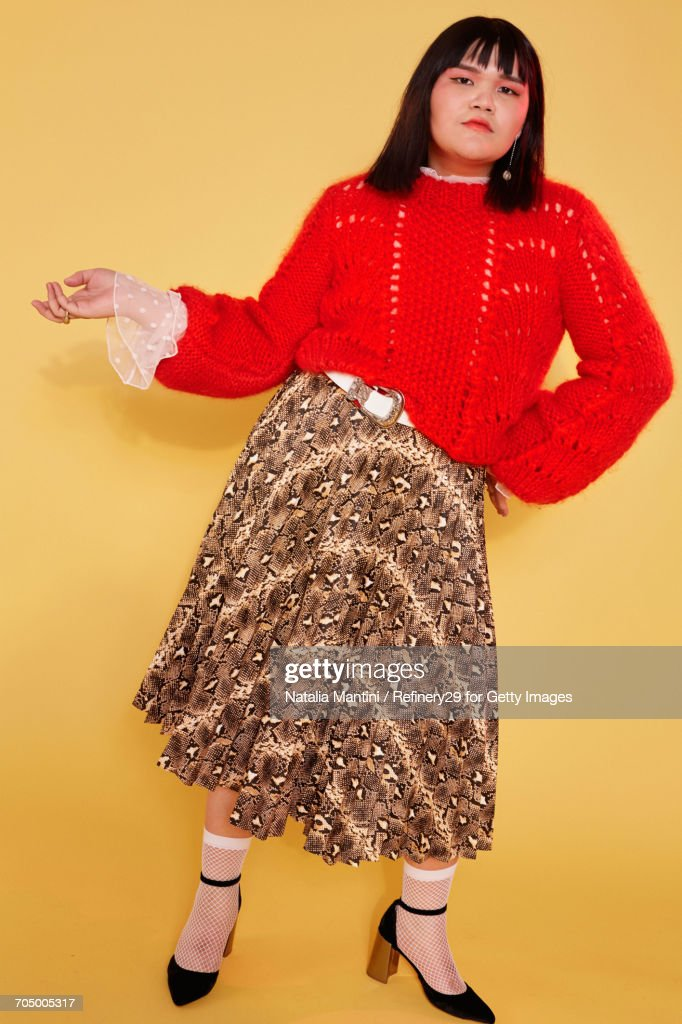 Portrait Of Young Confident Woman : Stock Photo