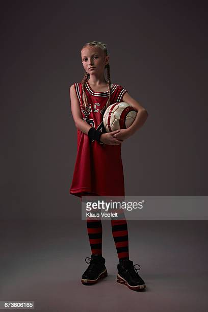 portrait of young cool ball player - drive ball sports stock pictures, royalty-free photos & images