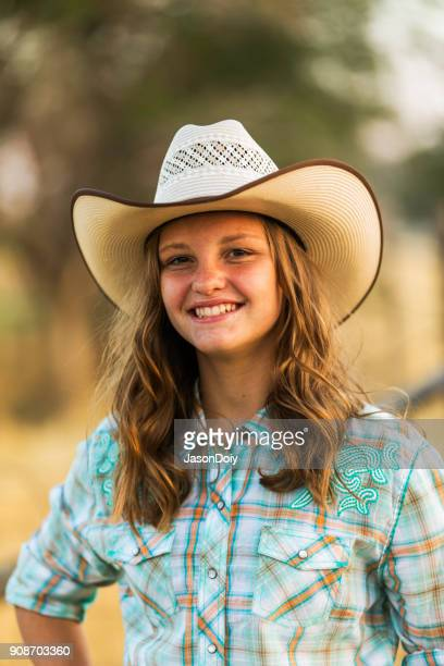 Portrait of Young Country Girl
