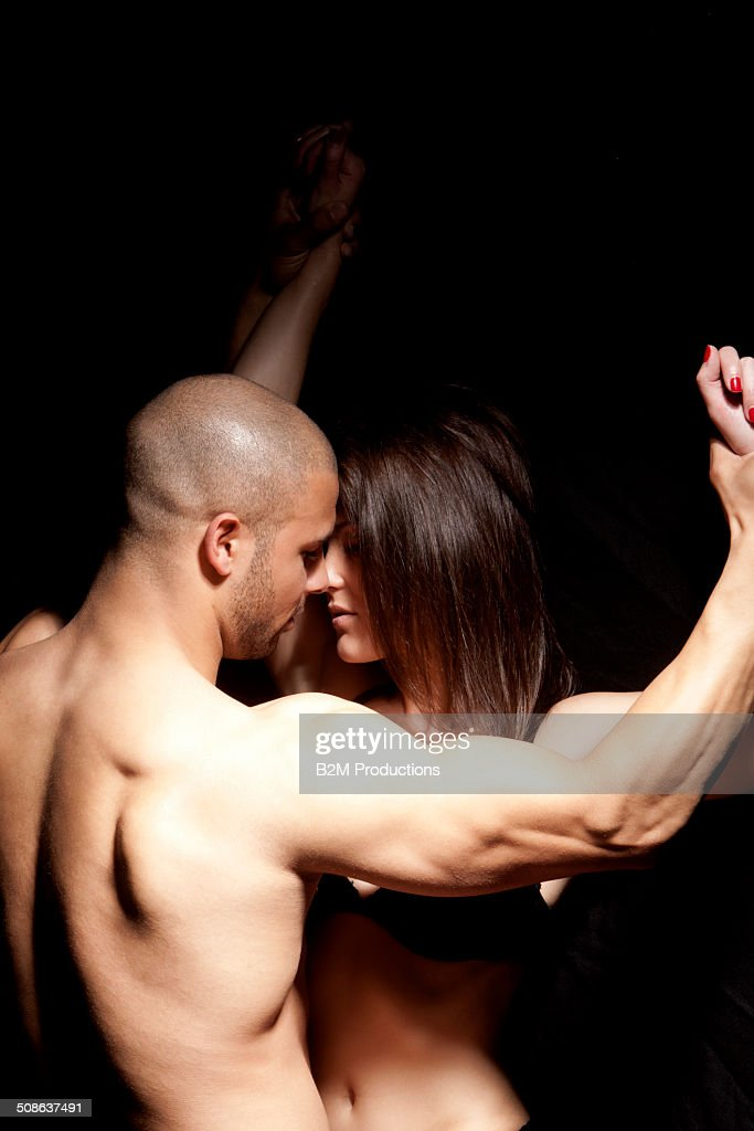 Black men making love to white women