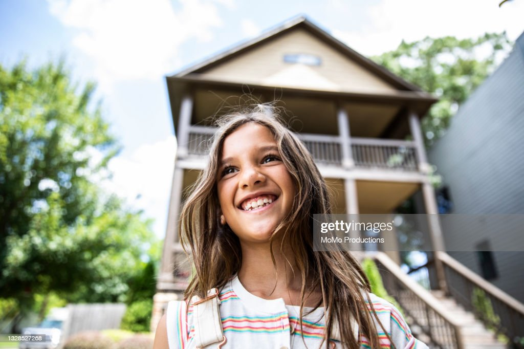Portrait Of A Young Girl High-Res Stock Photo - Getty Images