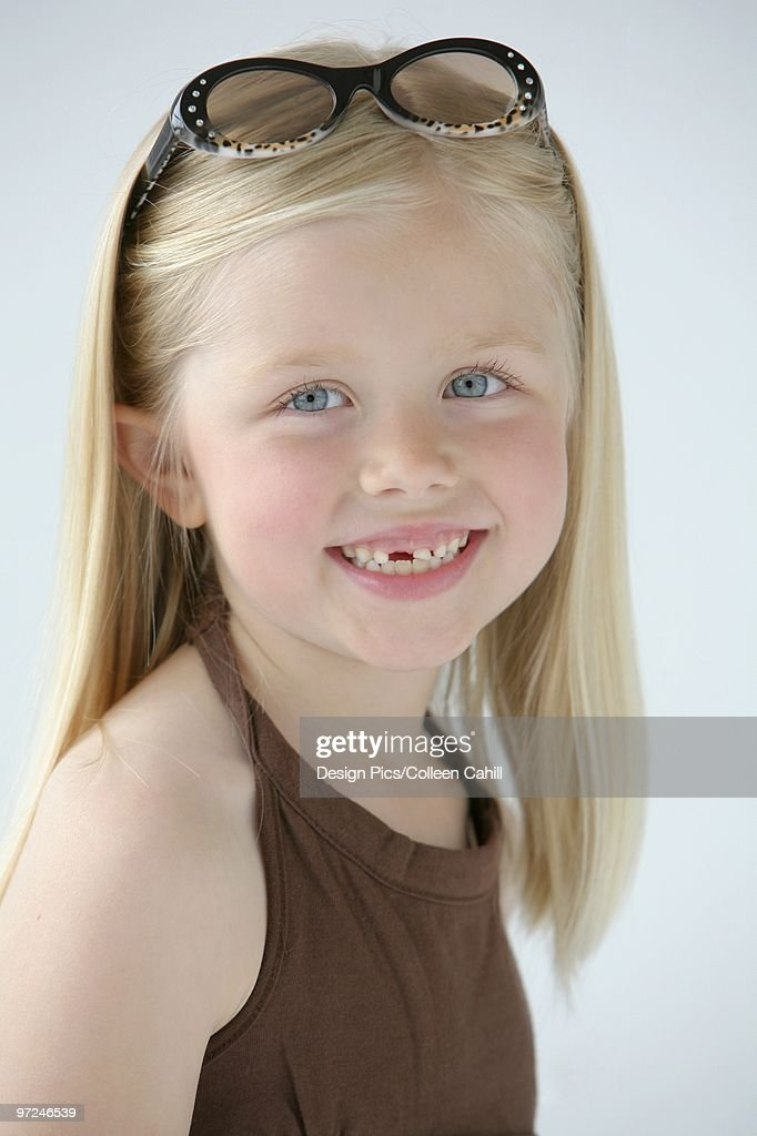 Portrait Of A Young Emirati Girl High-Res Stock Photo