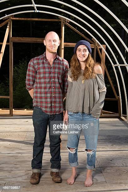 Portrait of Young Hippie Couple