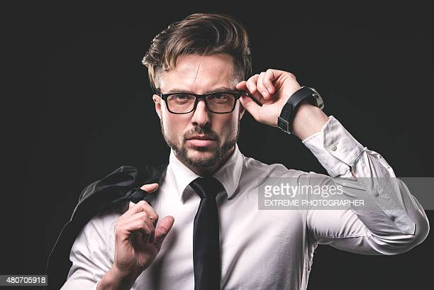Porträt von junge hipster