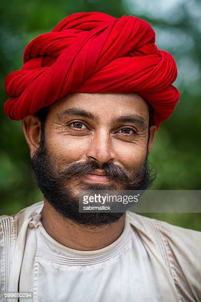 Portrait of Young Indian man.