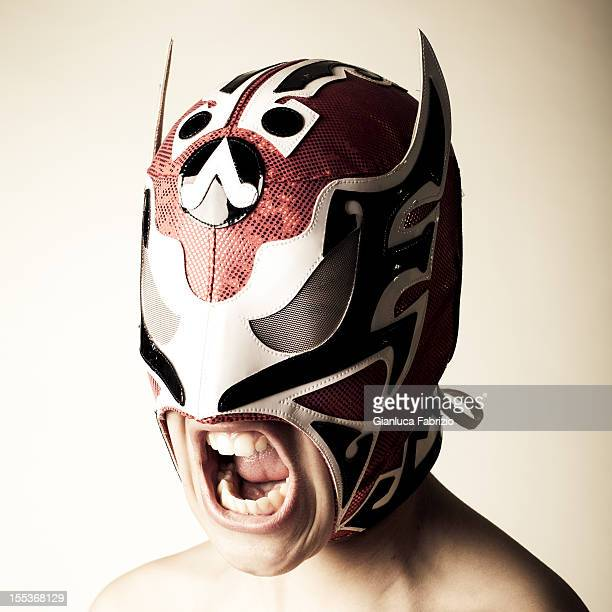 Portrait of Young Italian Luchador