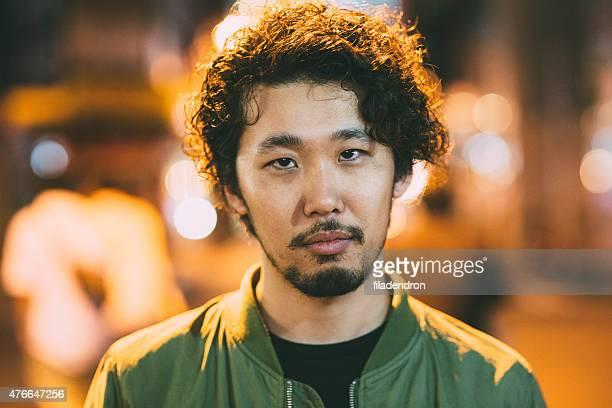 Porträt eines jungen japanischen Mann