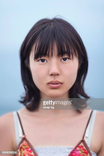 Portrait Of Young Japanese Woman