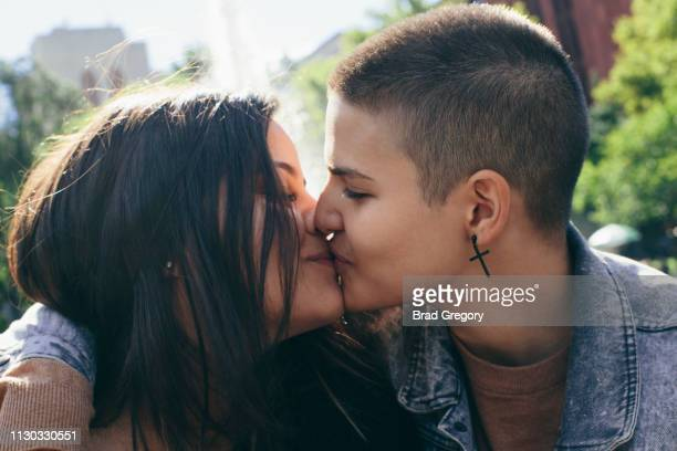 Portrait Of Young Lesbian Couple