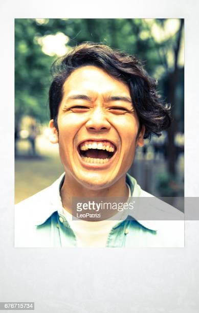 東京で若い男の肖像