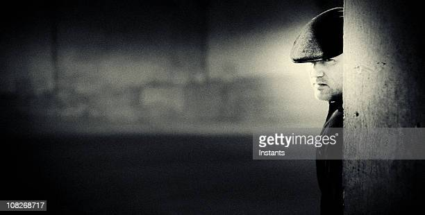 portrait of young man - flat cap stock pictures, royalty-free photos & images