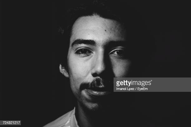 portrait of young man - mexico black and white stock pictures, royalty-free photos & images