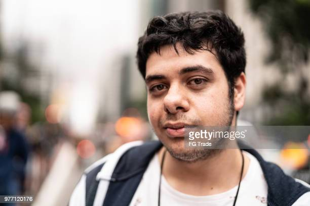 portrait of young man - campaigner stock pictures, royalty-free photos & images
