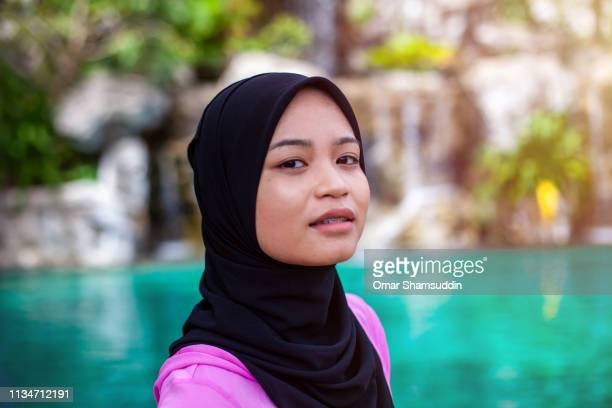 Portrait of young Muslim woman with attitude