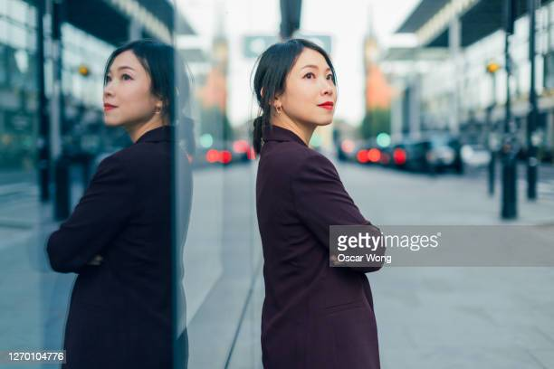 portrait of young professional woman - chinese ethnicity stock pictures, royalty-free photos & images