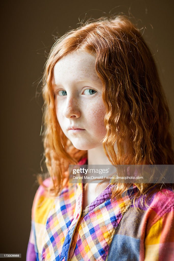 Portrait Of The Young Girl Royalty Free Stock Images
