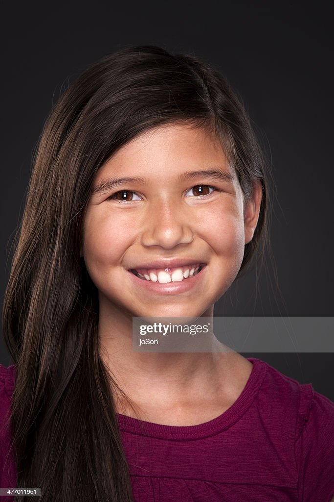 Portrait Of Young Girl At Tapovan Fair Ground During Khumb