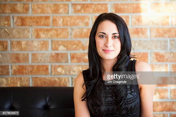 portrait of young woman - jim craigmyle stock pictures, royalty-free photos & images