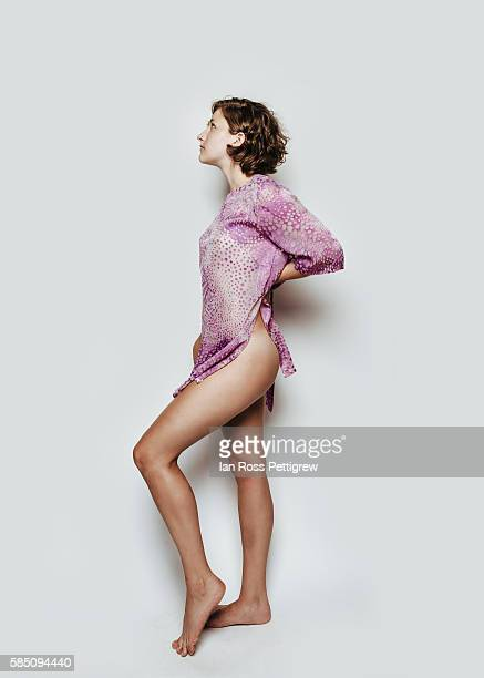 portrait of young woman - beautiful bare bottoms stock pictures, royalty-free photos & images