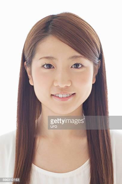 portrait of young woman - somente japonês - fotografias e filmes do acervo