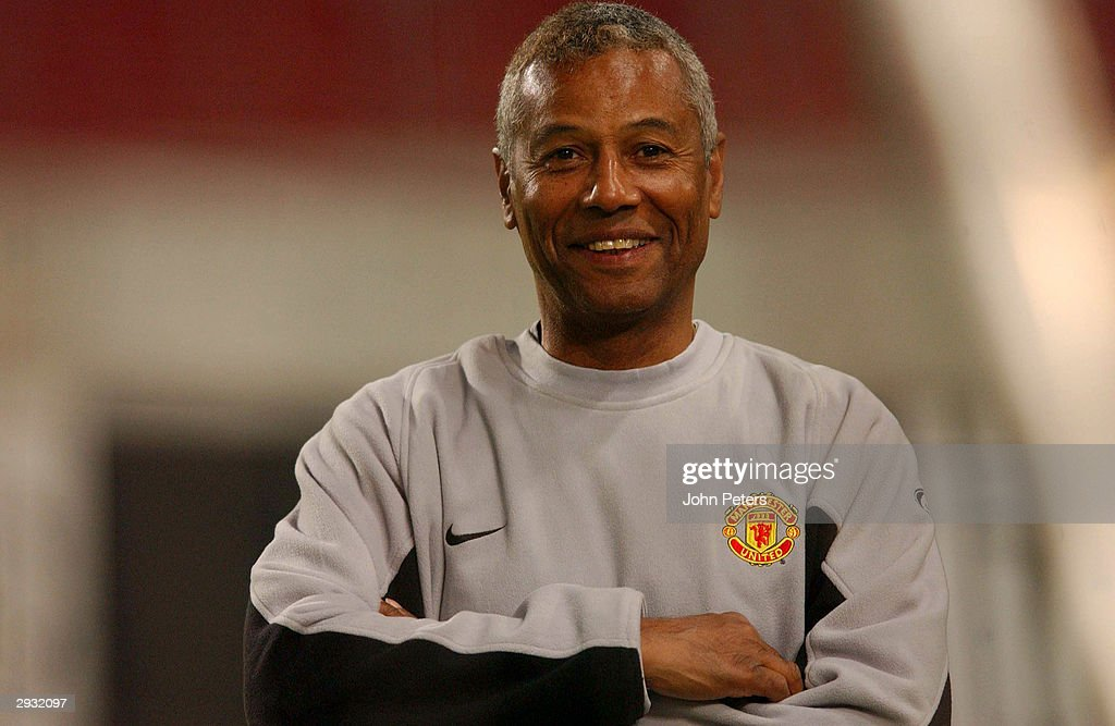 A portrait of youth team coach Francisco Filho during the training session ahead of the UEFA Champions League match between Stuttgart v Manchester United on September 30, 2003 in Stuttgart, Germany.
