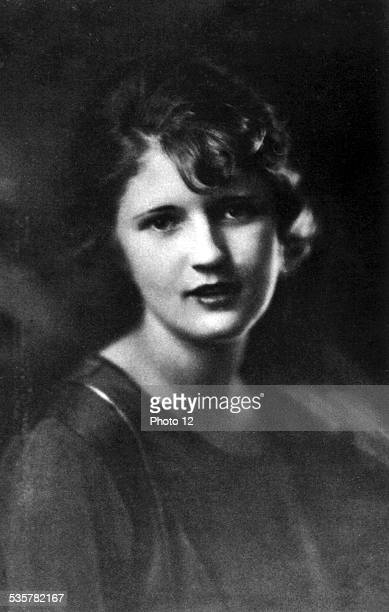 Portrait of Zelda Sayre 20th century United States