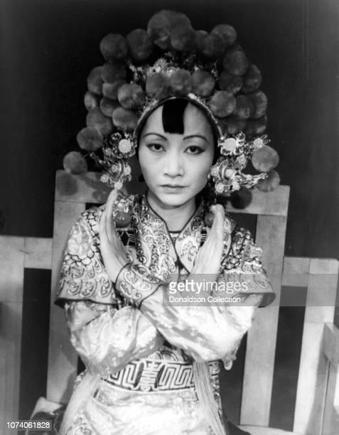Portrait ofAnna May Wong as 'Turandot' at Westport