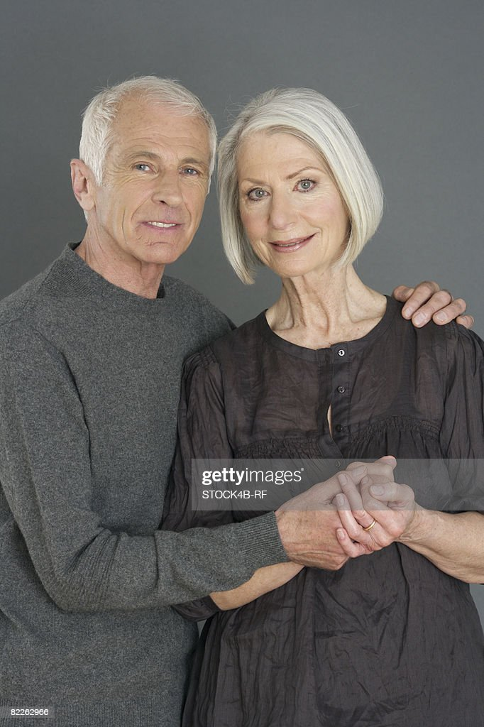 Portrait on an old couple : Stock Photo