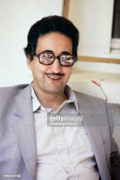 Portrait on August 1, 1981 in Auvers-sur-Oise shows former President of Iran Abolhassan Banisadr. - Following his impeachment by the Majlis allegedly...
