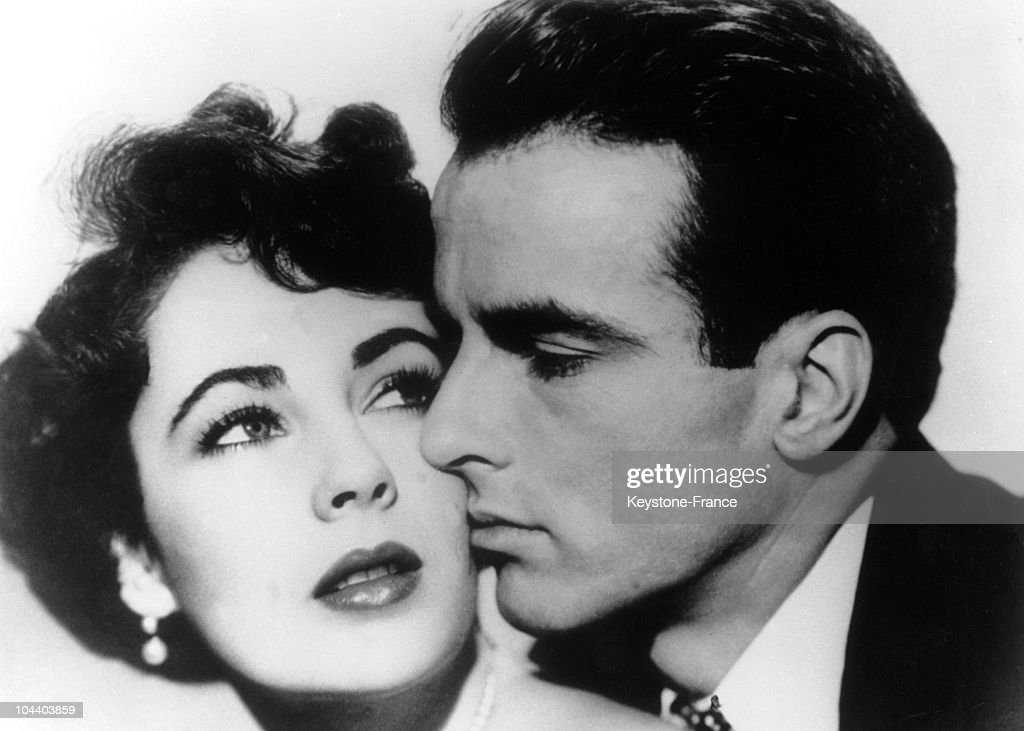 "Liz Taylor And Montgomery Clift In The Film "" A Place In The Sun"" : News Photo"