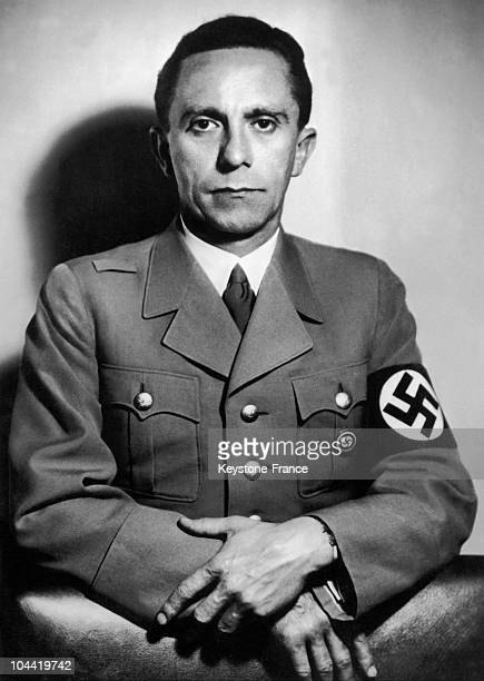 Portrait On October 26 1941 Of Joseph Goebbels , At The Time Of The 15Th Anniversary Of His Nomination By Hitler, To The Post Of Police Chief To The...